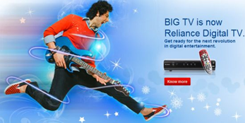 How to subscribe for Reliance Digital TV
