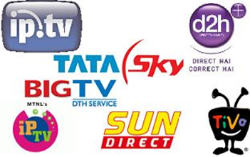 List of DTH service Providers in India